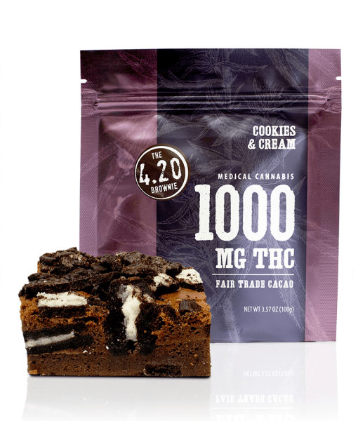 1000mg thc weed brownie