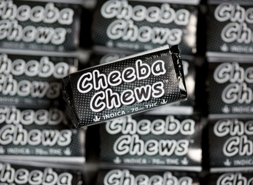 cheeba chews indica cannabis taffy