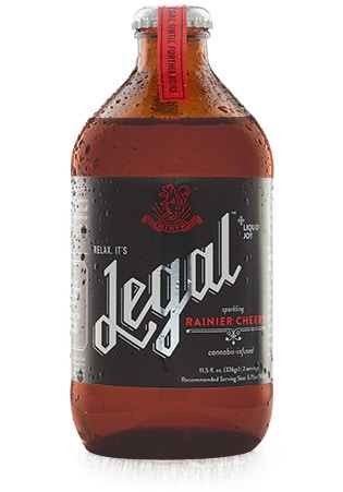 legal rainier cherry hero cannabis soda