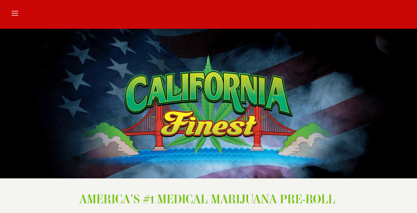 California finest website good design