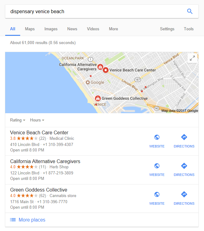 Search results for dispensary venice beach cannabis seo