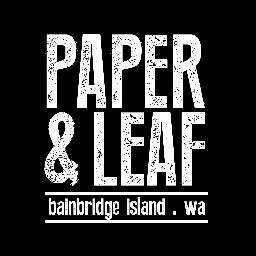 Paper & Leaf logo