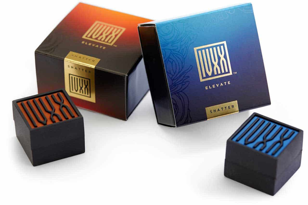 IVXX cannabis packaging design