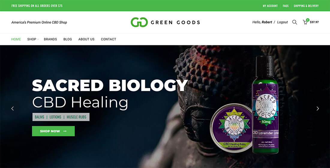 Green Goods CBD shop