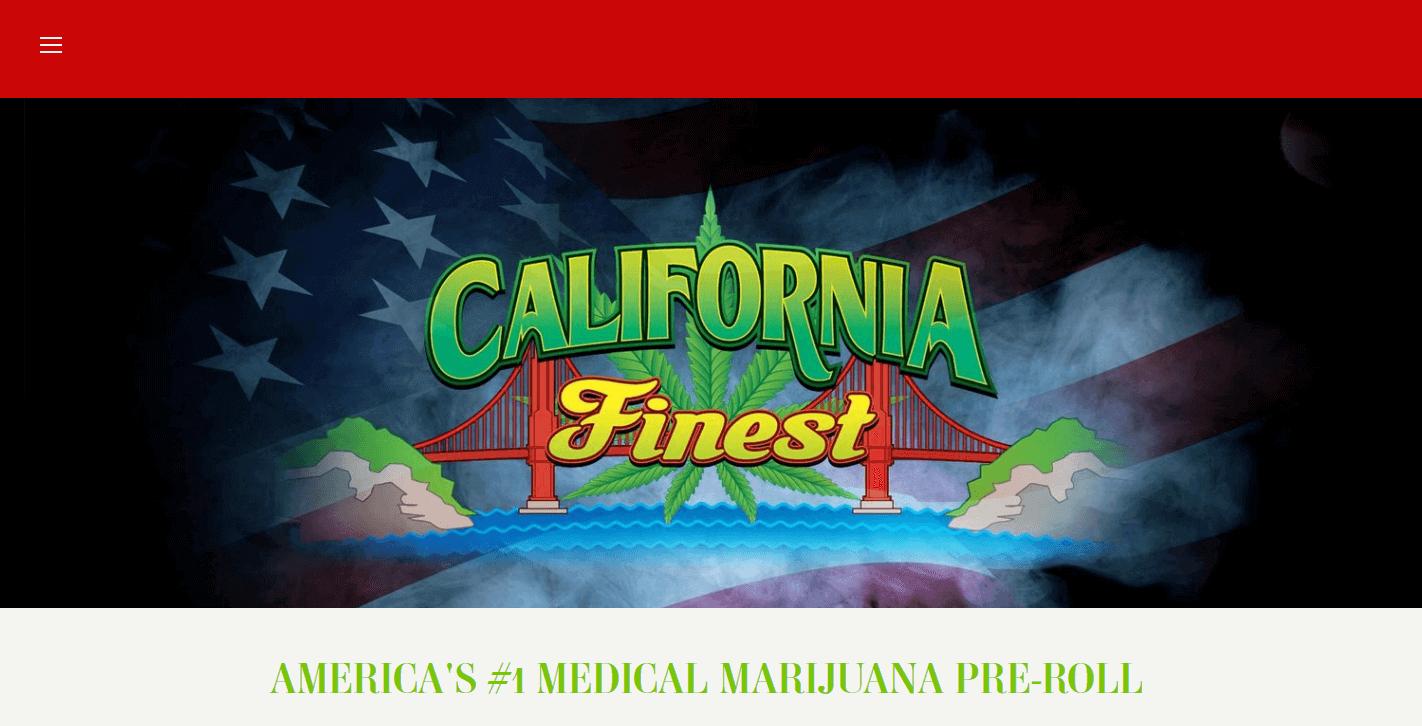 California finest website good design