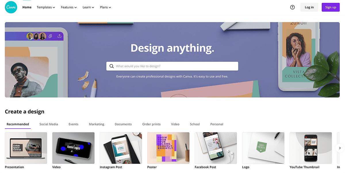 Canva for basic design min