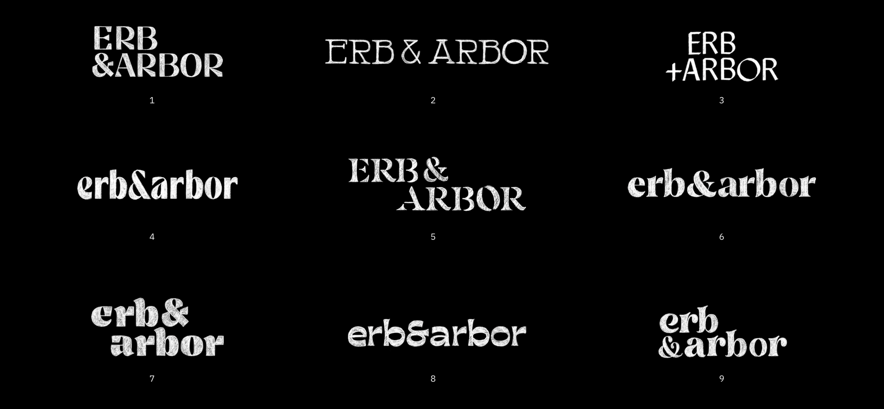 Erb Arbor logo process min