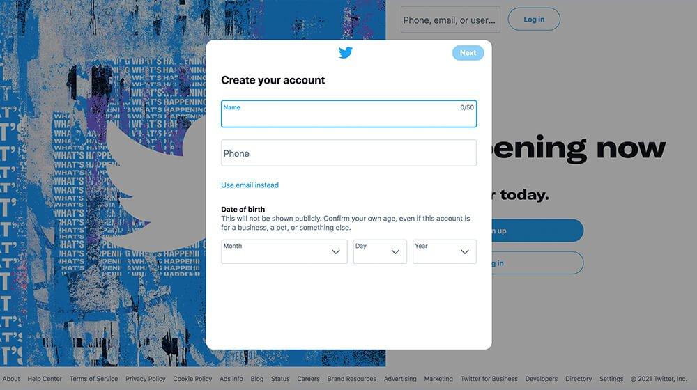 twitter profile for dispensaries