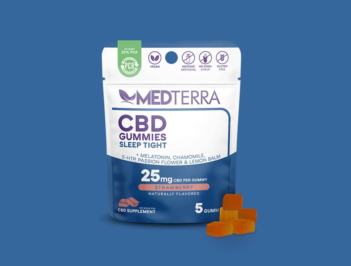 MedTerra Sleep CBD gummies