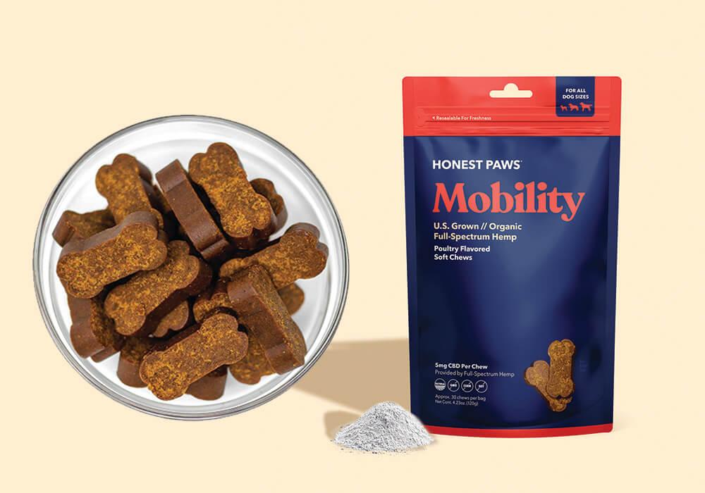 Mobility Pet Chews Honest Paws
