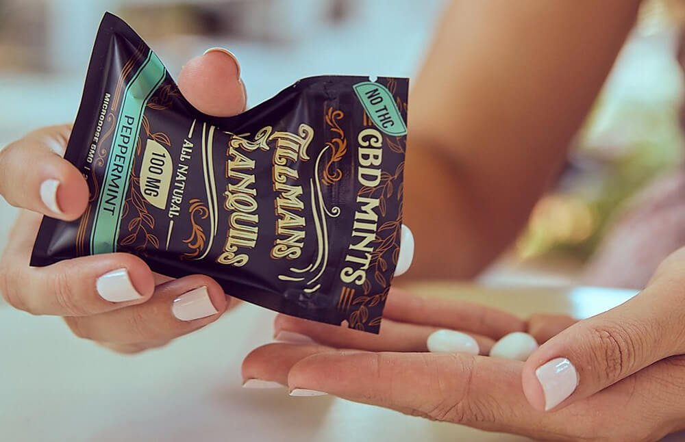 Tillmans Tranquils D8 THC mints