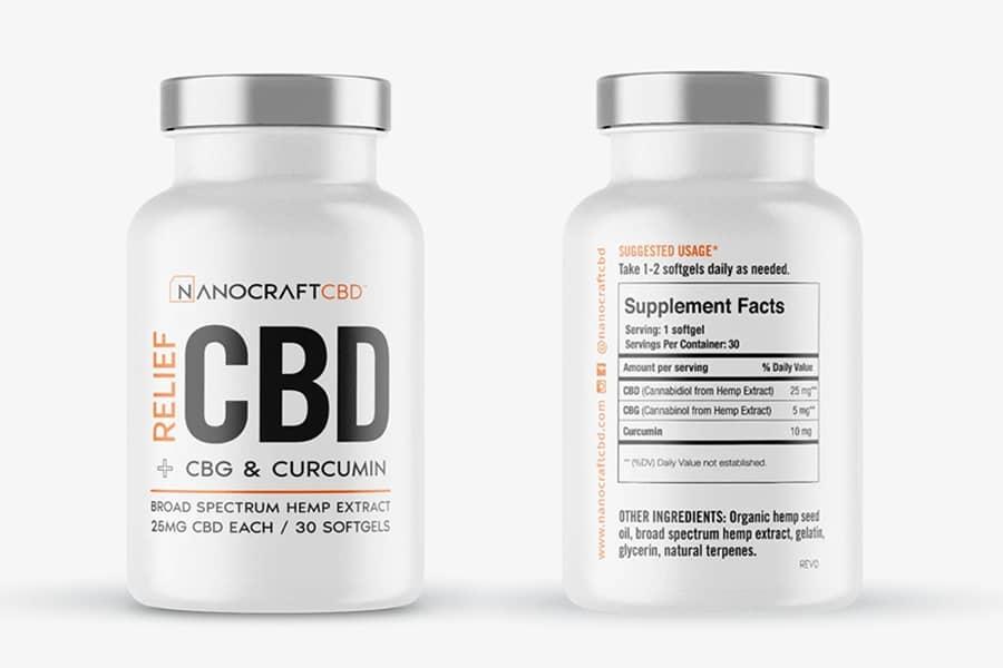 NanoCraft CBD capsules