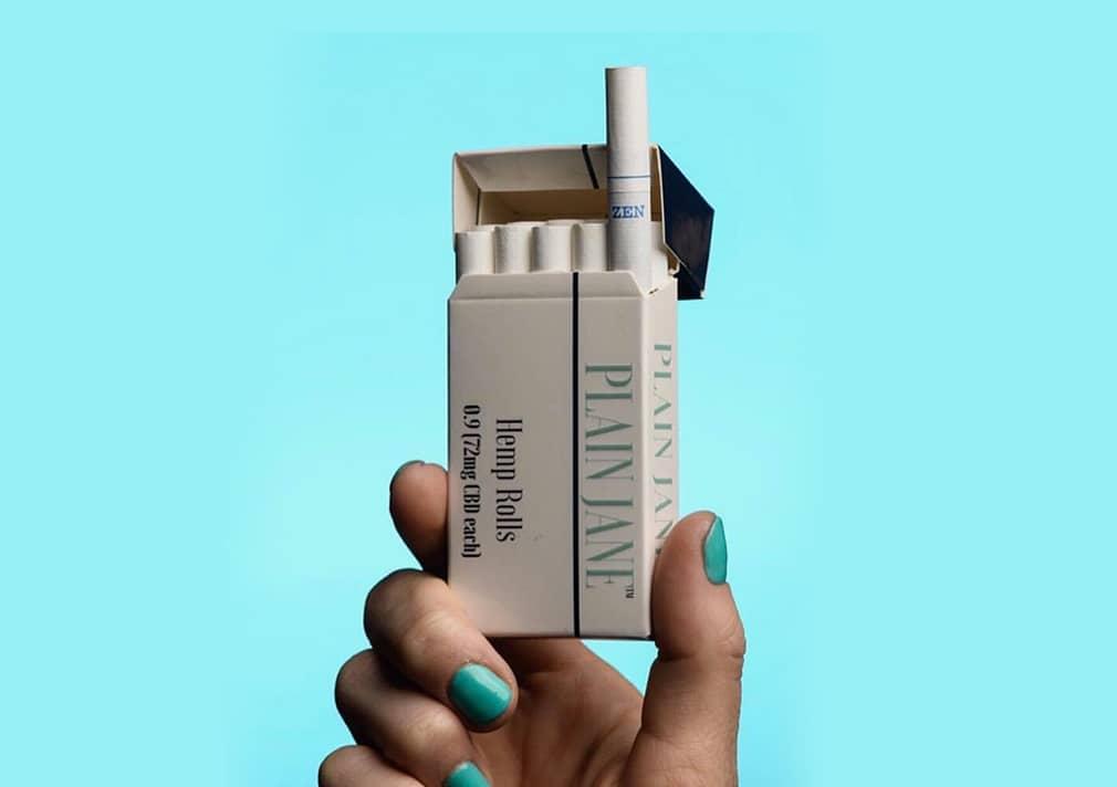 Plain jane CBD cigarettes