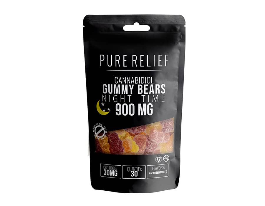 Pure Relief CBD Melatoninn Gummies